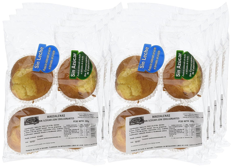 Productos San Diego Magdalenas sin Azúcar - Paquete de 8 x 200 gr - Total: 1600 gr: Amazon.es: Alimentación y bebidas