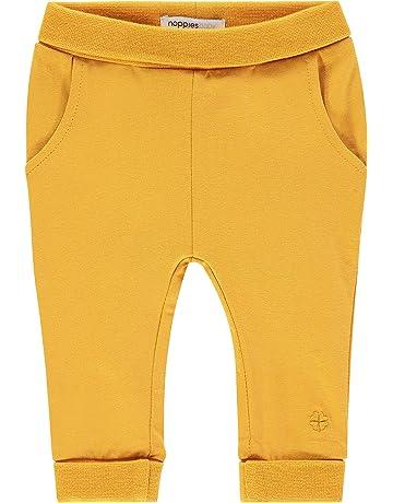 68 und 74 NEU in Gelb und Blau Jungen und Mädchen Oilily Baby Hose mit Fuß Gr