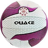 Sure Shot Unisex 4 Quake Netball 4, Color Blanco/Morado, Talla 4