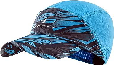 RONHILL MENS UNISEX AIR-LITE CAP DRY LIGHT STRETCH RUNNING SPORTS HATS CAPS