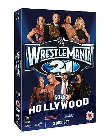 WWE: WrestleMania 21 [DVD] [Reino Unido]: Amazon.es: John Cena, Kurt Angle, Shawn Michaels, Triple H, John Cena, Kurt Angle: Cine y Series TV