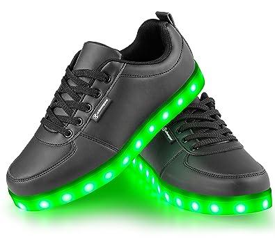 Angin Tech LED Schuhe 7 Farbe USB Aufladen LED Leuchtend