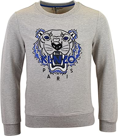 Sweat Kenzo Kids Tigre Gris Enfant: : Vêtements