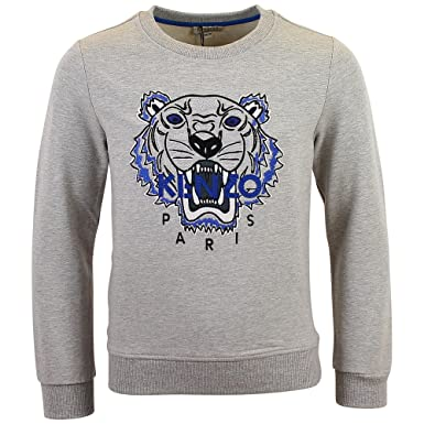 Sweat Kenzo Kids Tigre Gris - Enfant  Amazon.fr  Vêtements et ... 4bd7052a6e7
