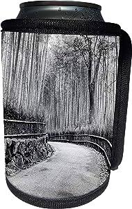 3dRose Danita Delimont - Gardens - Asia, Japan, Kyoto. Walkway through Arashiyama Bamboo Grove. - Can Cooler Bottle Wrap (cc_225859_1)