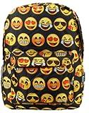 New Design Backpack Cute Backpack Kids School Backpack With Emoji Black Big Face