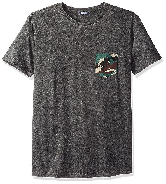 fbcad154bb7 ROBUST Men's Half Sleeve Round Neck T-Shirt with Army Print Pocket