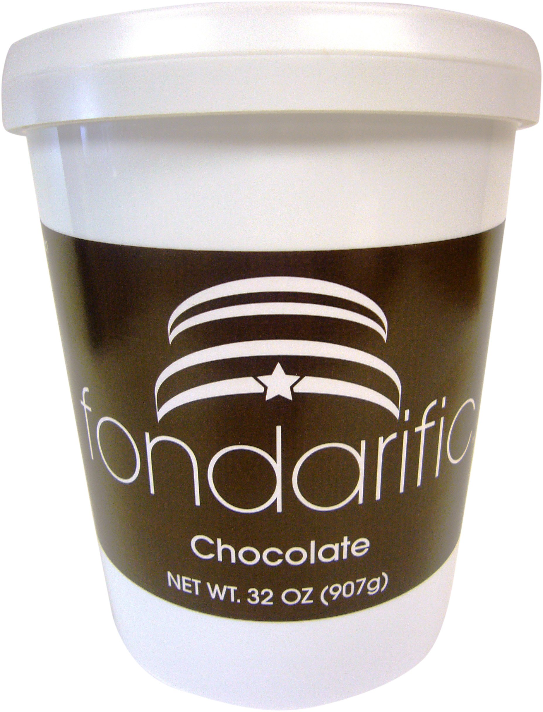 Fondarific Chocolate Fondant Brown, 2-Pounds by Fondarific (Image #2)