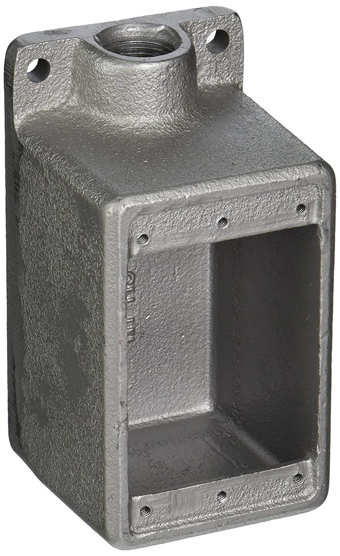 Thomas /&  Betts TC FD1TB 1//2 D IRON 1G-DEEP BOX