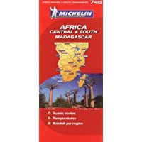 Africa Central South & South Madagascar/Afrique Centre Et Sud Madagascar (Michelin Maps)