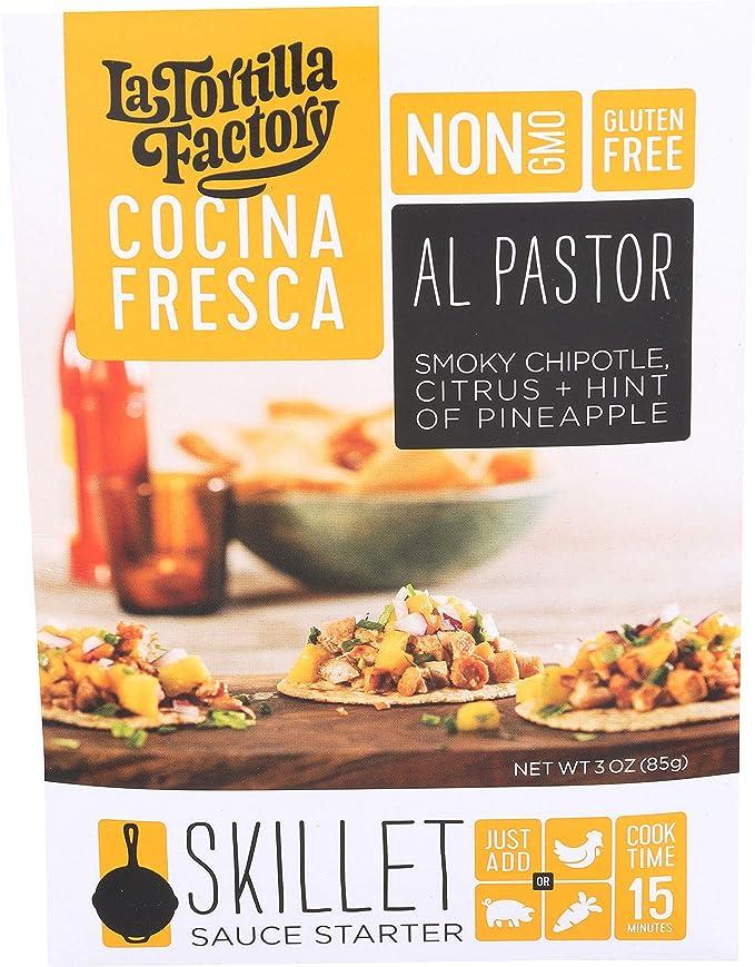 Amazon Com La Tortilla Factory Cocina Fresca Al Pastor Skillet