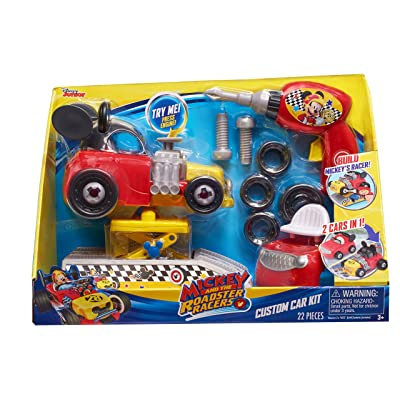 Mickey ROADSTERS Racers Custom Car Kit: Toys & Games