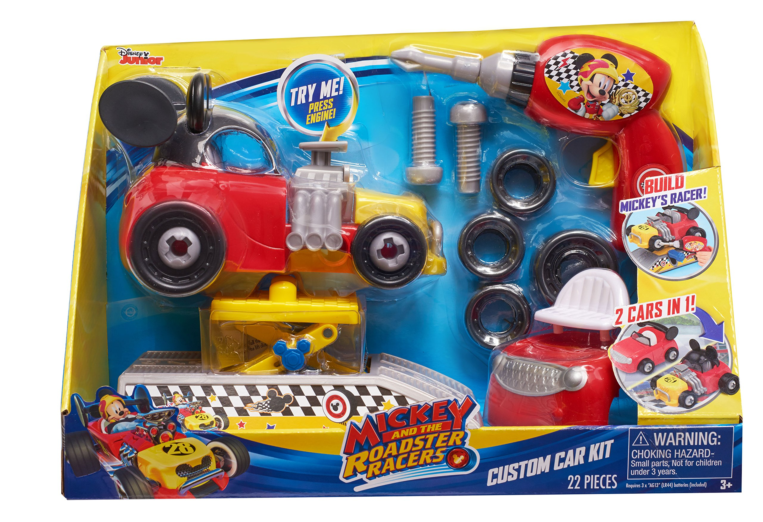 MICKEY ROADSTERS Racers Custom Car Kit