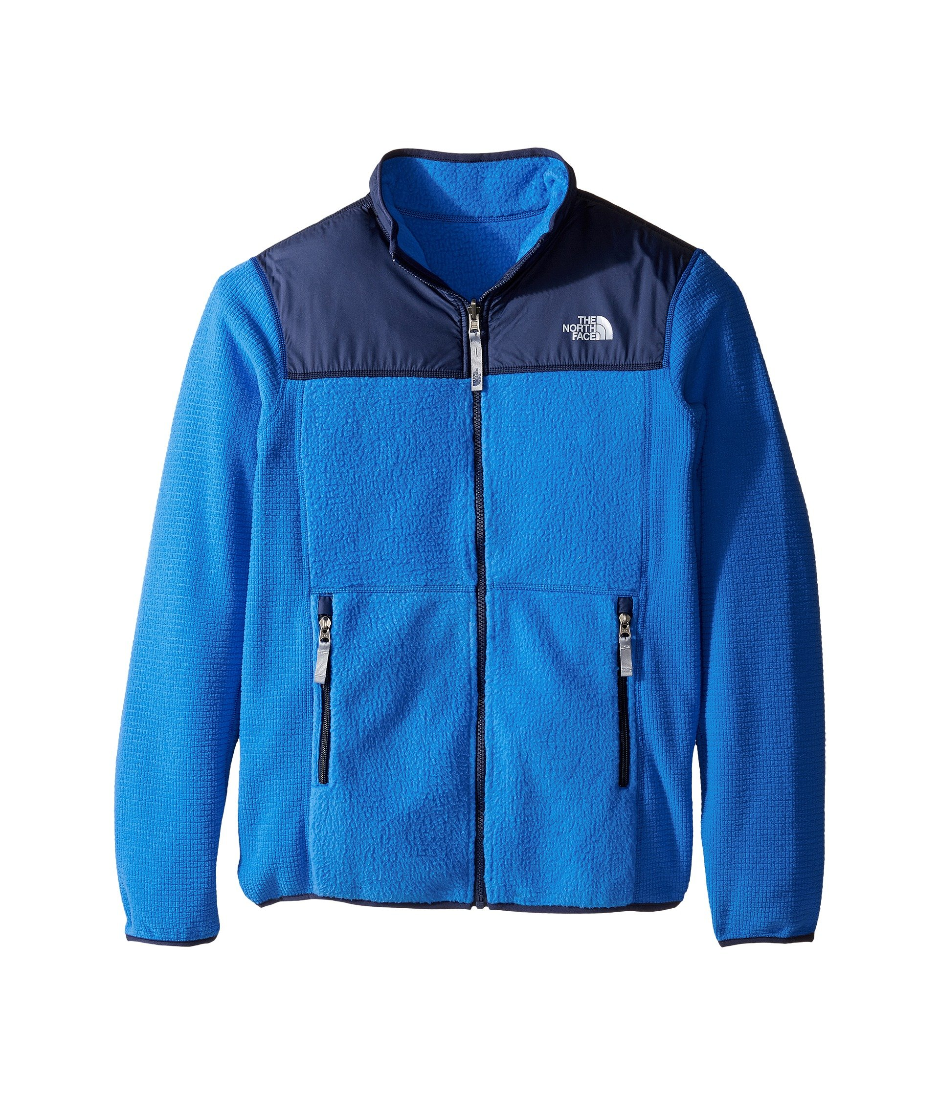 The North Face Reversible Off The Grid Jacket Boys' Jake Blue Medium