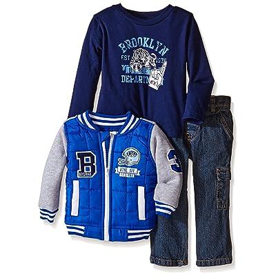 Boys Rock Baby Boys' 3 Piece Jacket Set