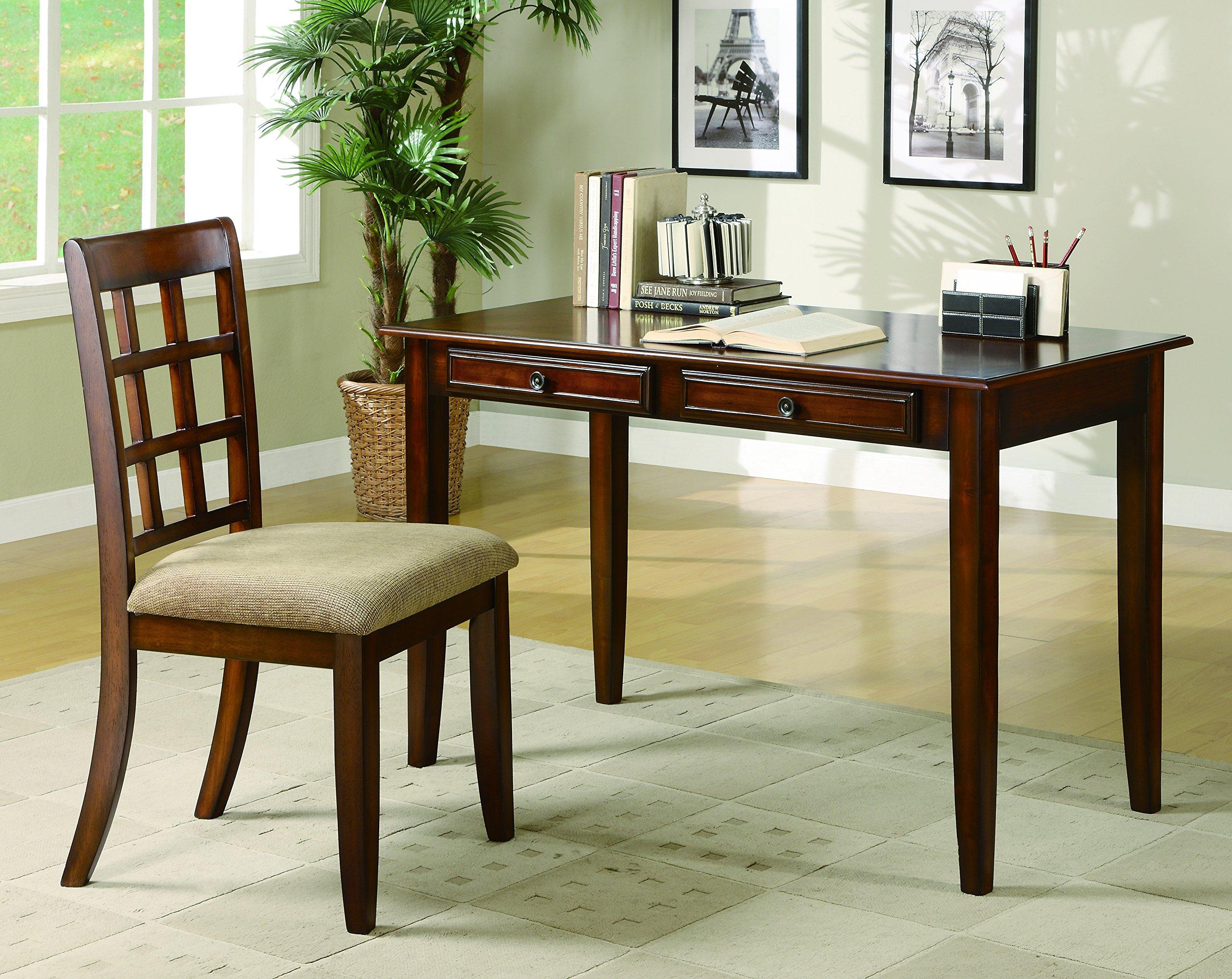 Coaster Home Furnishings Casual Desk Set, Brown by Coaster Home Furnishings