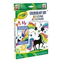 CRAYOLA Sticker Art Set Ricarica da Usare Super Pen, 04-0493