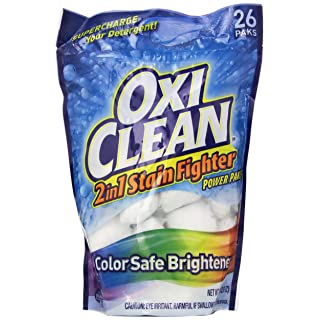 Arm & Hammer 57037-51908 OxiClean 2 in 1 Stain Fighter Power Pak, 1.3 oz (Pack of 4)