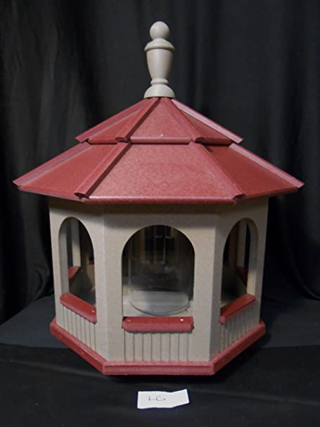 Amazon.com: Grande Gazebo vinilo Pájaros Amish caseros Hecho ...