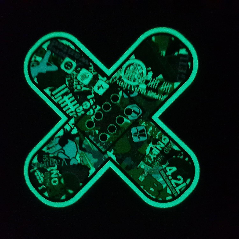 Folien Zentrum Pflaster Leuchten Im Dunkeln Nachleucht Leucht Shocker Hand Auto Aufkleber Jdm Tuning Oem Dub Decal Stickerbomb Bombing Fun Auto