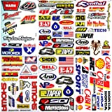 Dirt Bike Motorcycles Supercross Motocross ATV Lot 6 vinyl decals stickers D6015