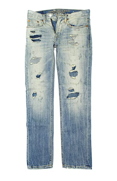 Amazon.com: American Eagle de los hombres Slim Straight Jean ...