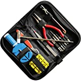 Kurtzy 285 Pieces Watch Repair Kit with Case - Watchmaker Tool Contains Link Remover, Watch Pins, Watch Back Removal Tool, Watch Hammer, Watch Knife, Spring Bar Remover - Watch Battery Changing Kit