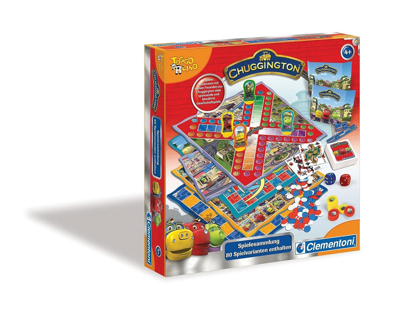 Clementoni 69165.4 - Chuggington-Spielesammlung - 80 Spielvarianten