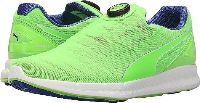 Puma Disc Ignite las zapatillas de running, Green Gecko-Surf The Web, 8 D(M) US: Amazon.es: Zapatos y complementos