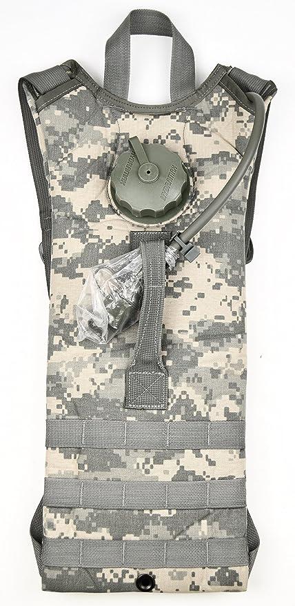 aebaae0b501 Amazon.com : G.I. US Army ACU MOLLE (100 oz.) Hydration System ...