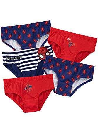 9442072d7192 Spiderman Boys Spider-Man Underwear Pack of 5 Multicoloured Age 18 to 24  Months