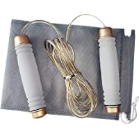 Jump Rope,Adjustable Skipping Rope,Skipping Rope Great Jump Rope for Fitness, Speed, Conditioning & Fat Loss. Ideal for…
