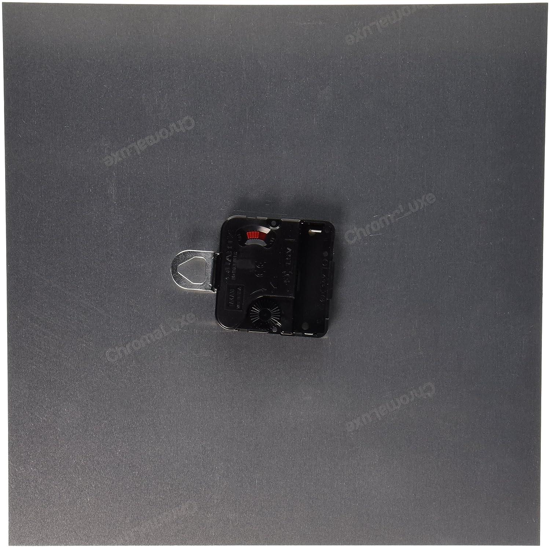 10 by 10-Inch 3dRose dpp/_39037/_1 2 Brown Deer in Tan Frame Wall Clock