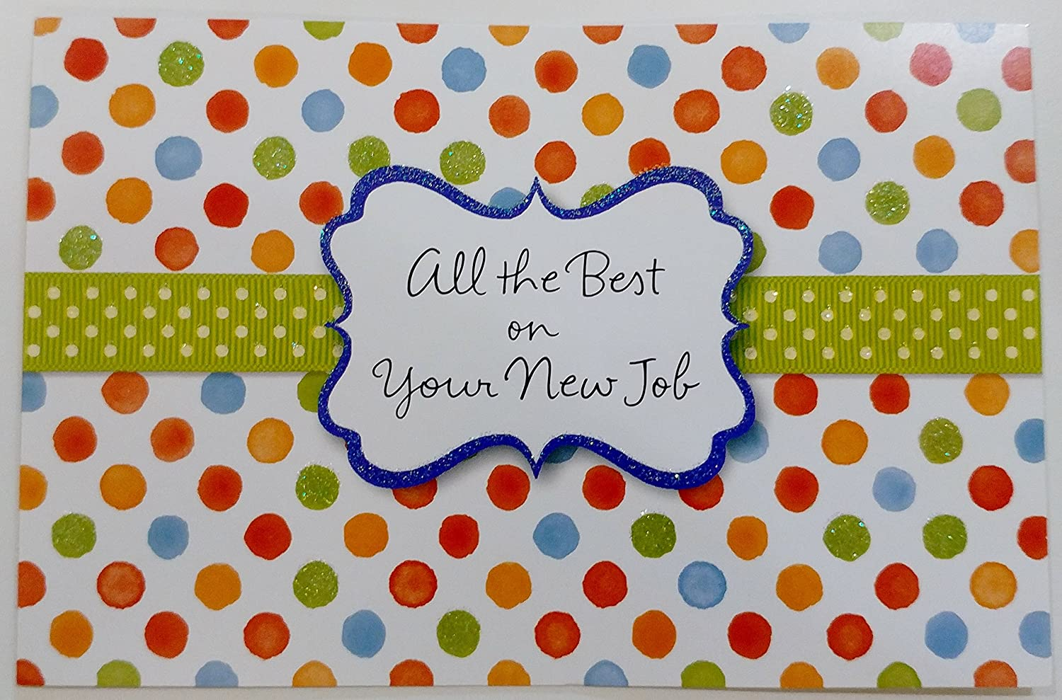 Amazon All The Best On Your New Job Greeting Card
