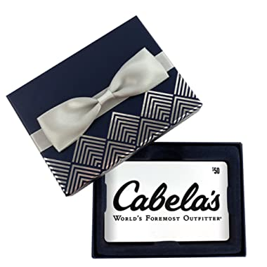 Cabela's Gift Card $50 - In a Gift Box