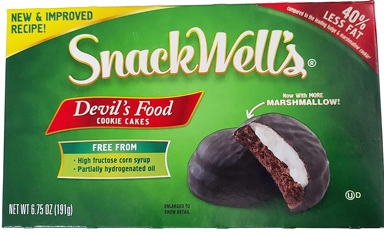 Snackwells Cookie Devils Food Cake (Pack of 4)
