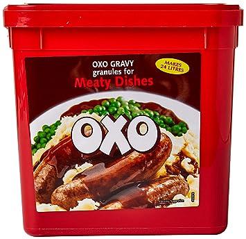 4 Tubs oxo - Gránulos salsa para platos de carne - 4 x 1,58