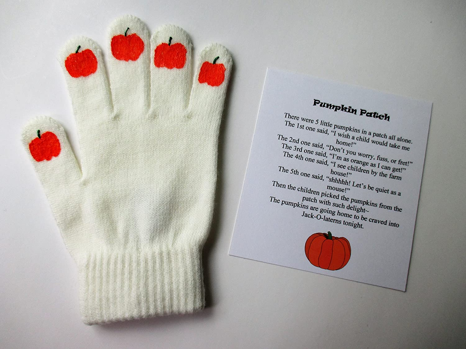 Pumpkin Patch Hand Puppet
