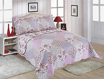 Restmor Couvre-lit matelassé avec Motifs