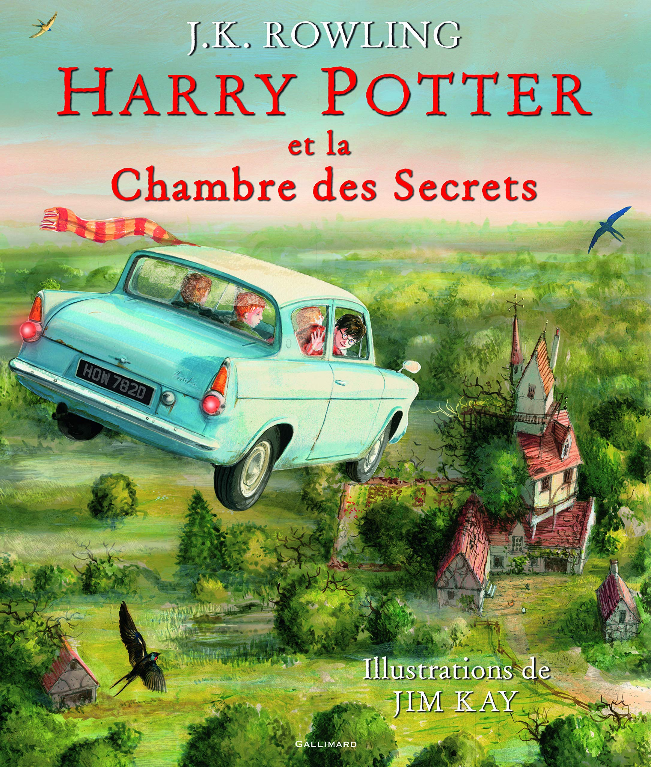 Harry Potter Tome Ii Edition Illustree Harry Potter Et