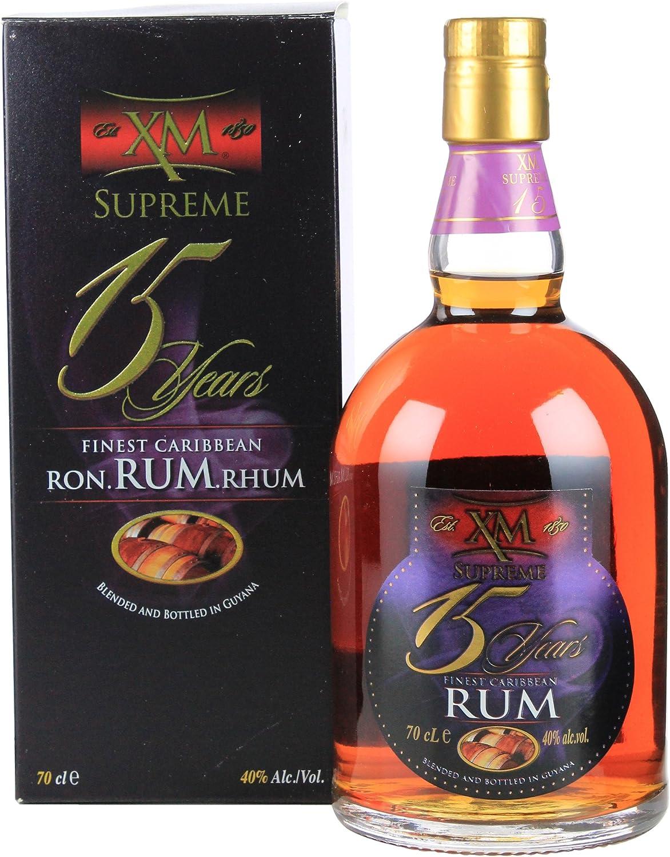 XM 15 años Supreme Rum (1 x 0,7 l)