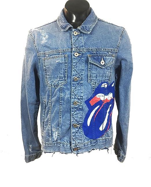 Zara Men s Rolling stones jacket 1277 485 (Large)  Amazon.ca ... f289864c70c34