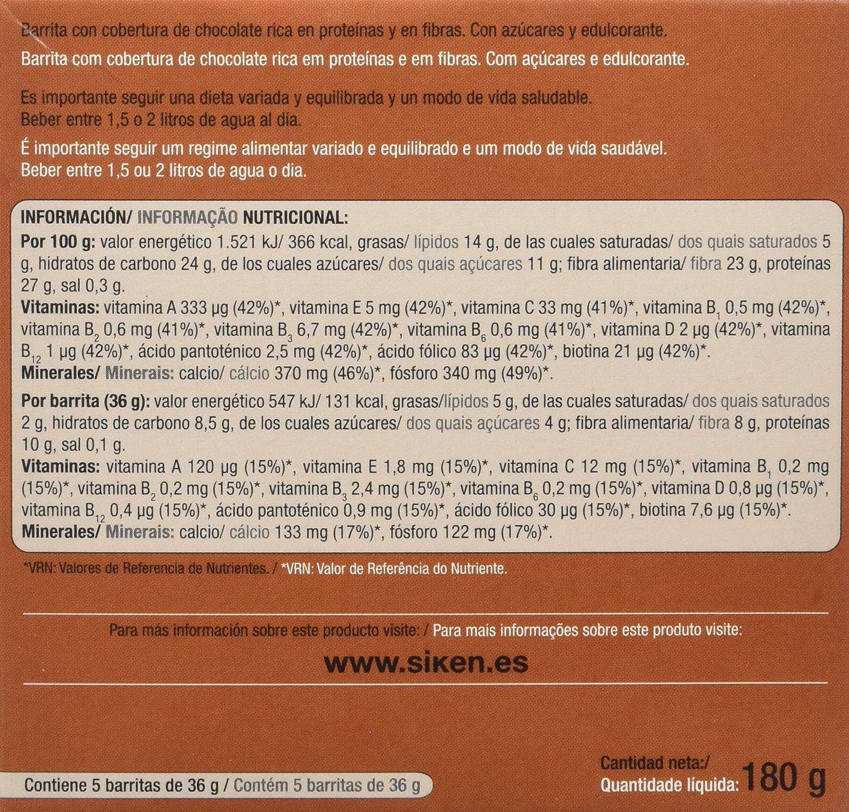 Diafarm Roha SIKENDIET BARRITA chocolate 5unid. - 100 gr: Amazon.es: Salud y cuidado personal