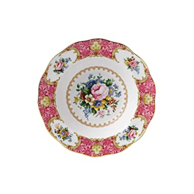 Royal Albert 15135014 Lady Carlyle Rim Soup 9-1/2-inches