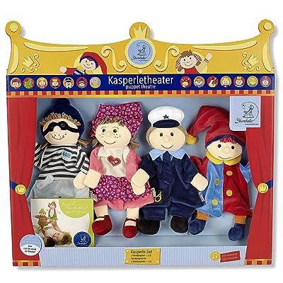 Sterntaler 3601680–Set de Marionnettes, multicolore