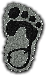 ToeJamR Snowboard Stomp Pad - Furry Yettie - Right - Gray by Toejamr