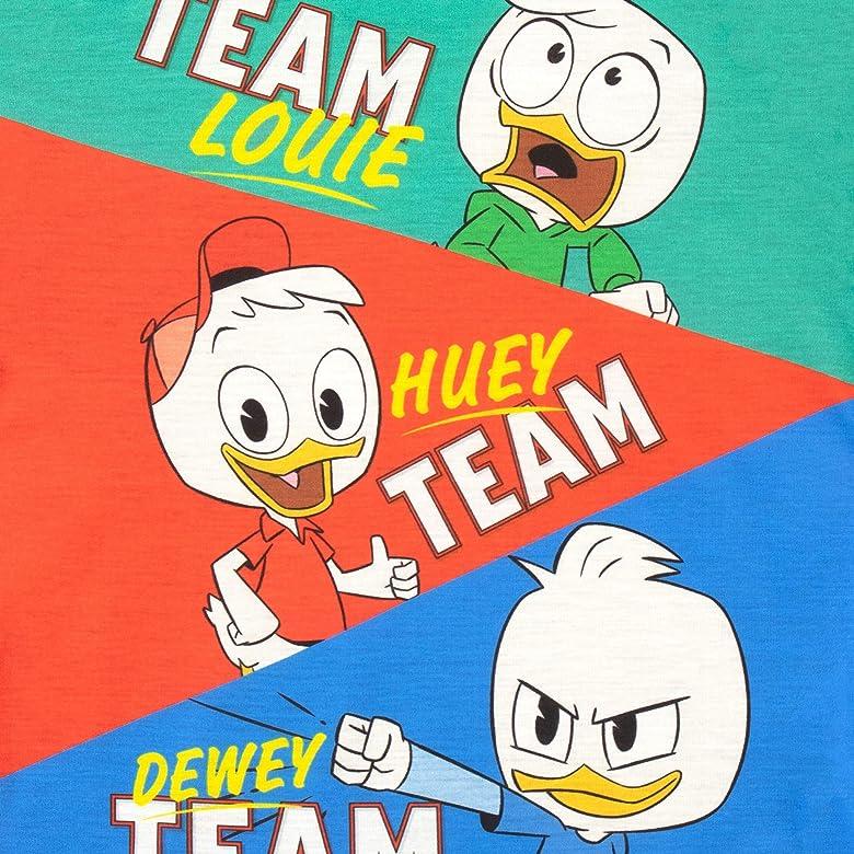 Disney Camiseta de Manga Corta para ni/ñas Duck Tales