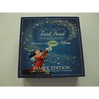 Trivial Pursuit Family Edition Disney Master Game by Horn Abbot: Toys & Games
