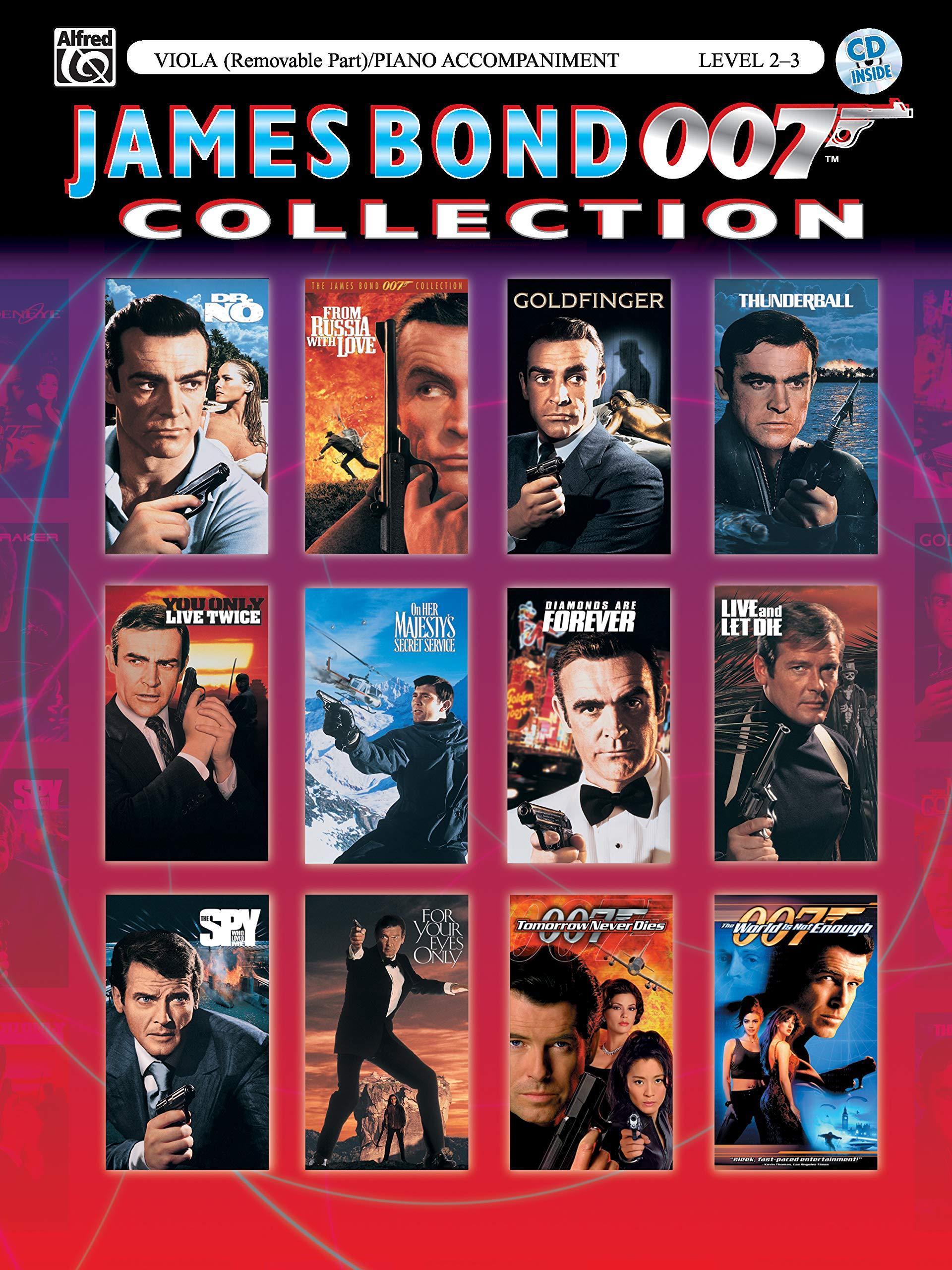 James Bond 007 Collection for Strings - Viola/Bratsche Klavierbegleitung (incl. CD)