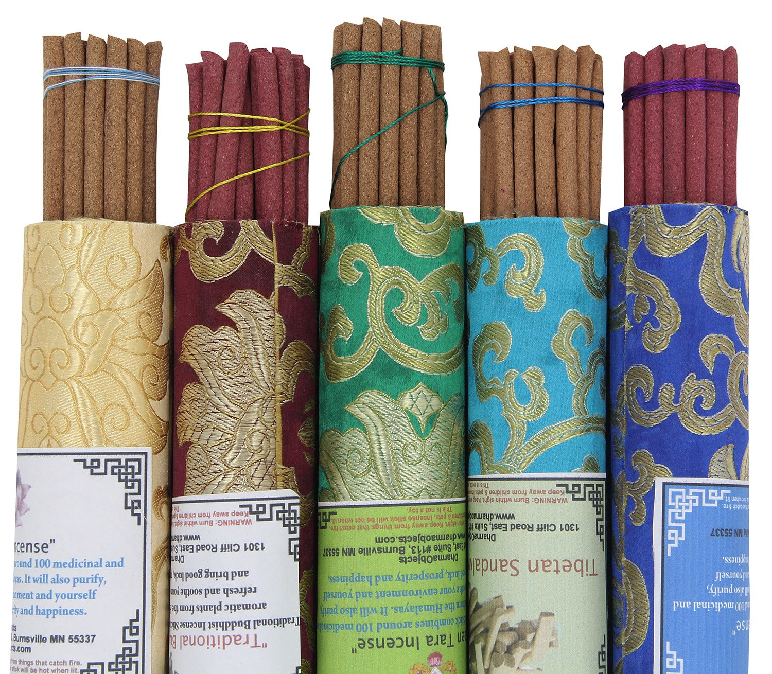 DharmaObjects 5 Packs Variety Tibetan Spiritual and Medicinal Incense Sticks by DharmaObjects (Image #3)